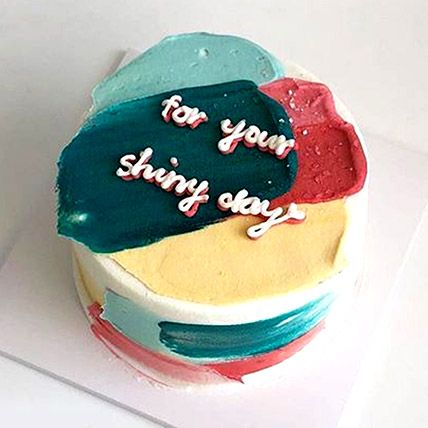 Colourful Wishes Lotus Biscoff Cake 1Kg
