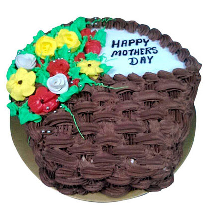 Vanilla and Choco Cake for Mom