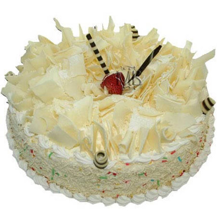 White Forest Cake 8 Portion