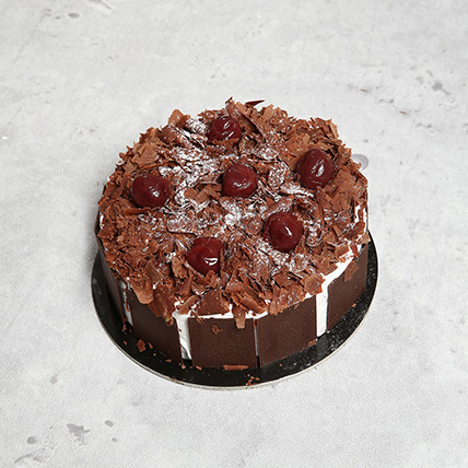 Four Portion Blackforest Cake OM