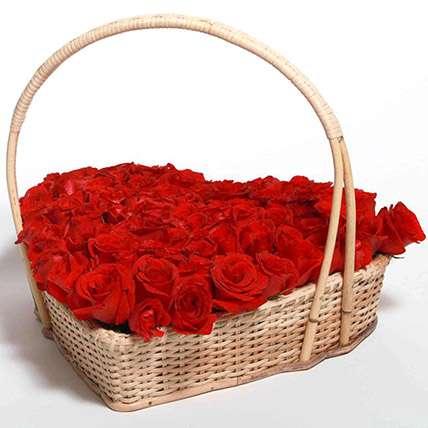 Love Flower Basket