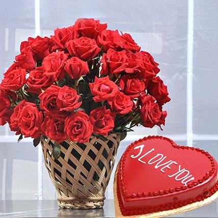 Sweet Heart N Lovely Roses