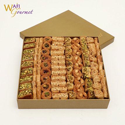 A Box Of Assorted Baklava