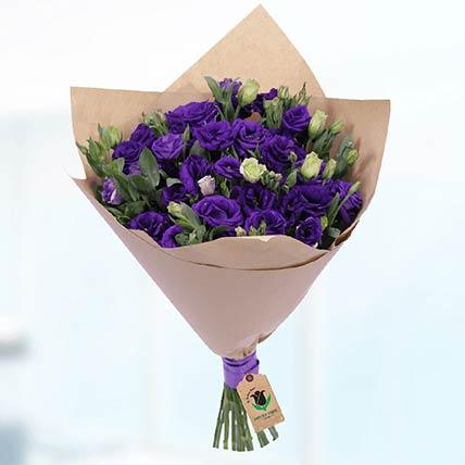 10 Stems Purple Lisianthus Bouquet