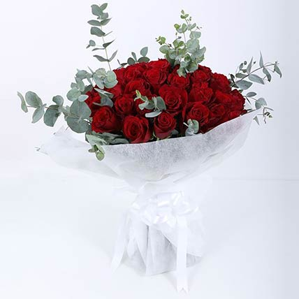 75 Red Roses Bouquet