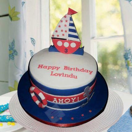 Ahoy Captain Chocolate Cake 3 Kgs