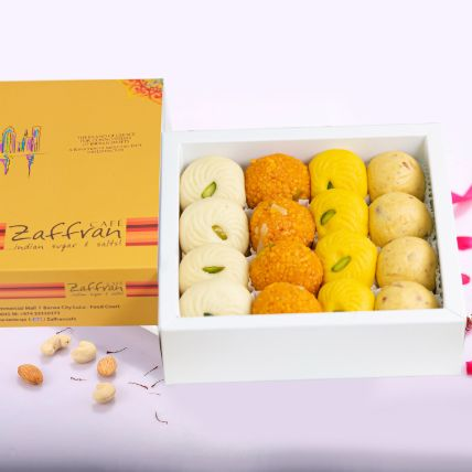 Assorted Laddoo & Peda Box Half Kg