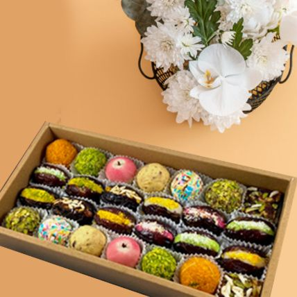 Pearl Dry Fruit Sweets Box Half Kg