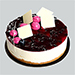 Blueberry Cheesecake 4 Portion