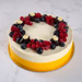 Yummy Vanilla Berry Delight Eggless Cake- 1 Kg