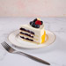 Yummy Vanilla Berry Delight Eggless Cake- 1.5 Kg