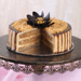 Yummy Butterscotch Eggless Cake- Half Kg