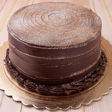 12 Portion Chocolate Fudge Cake