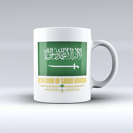 Kingdom Of Saudi Arabia Mug