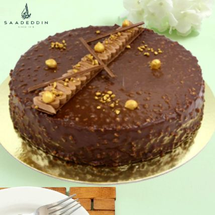Rocher Cake Large 12 Portions