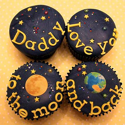 Love You Daddy Caupcakes