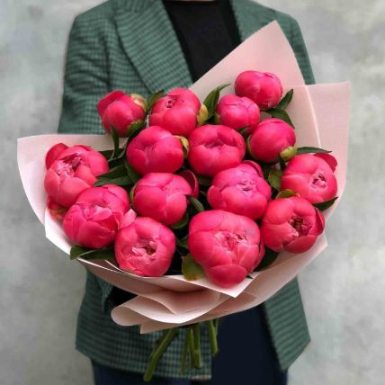 Young Love Peony Bouquet
