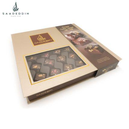 Appetizing Pecan Chocolate Box 500 Gms