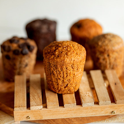 Wholemeal Carrot Spice Muffin
