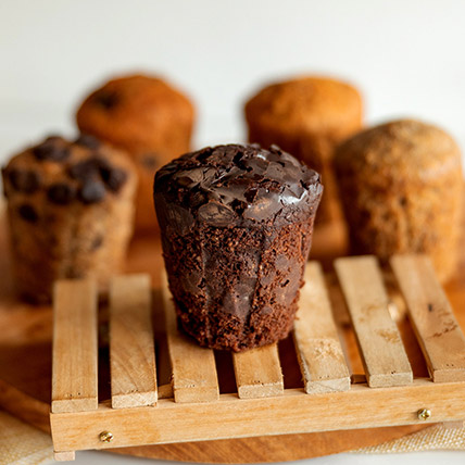 Wholemeal Chocolate Chip Muffin