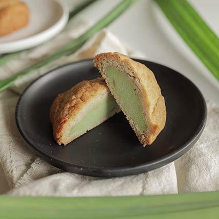 Keto Pandan Mooncake