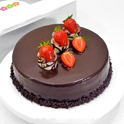 Choco Strawberry Delight