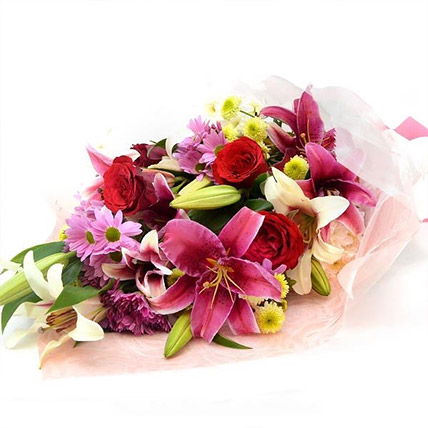 Colourful Bunch Of Flowers