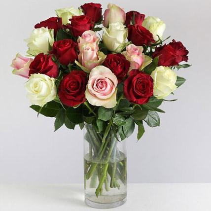 Beautiful Mixed Rose Arrangement