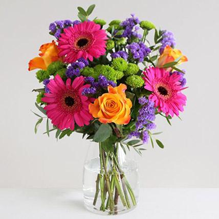 Piccasso Floral Vase