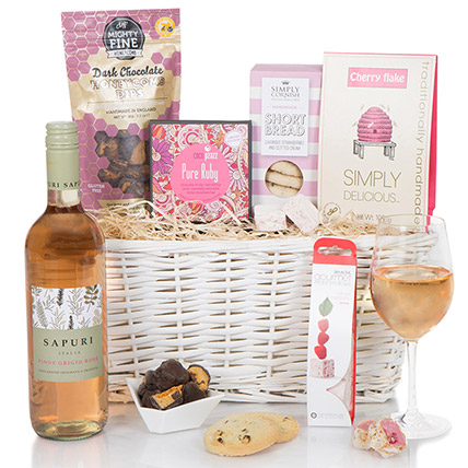 All Pink Delicious Hamper