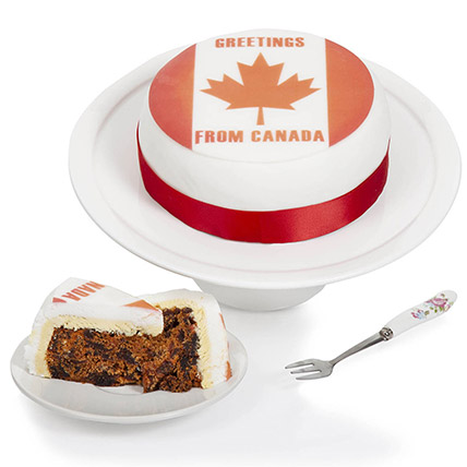 Greetings From Canada Fruit Cake